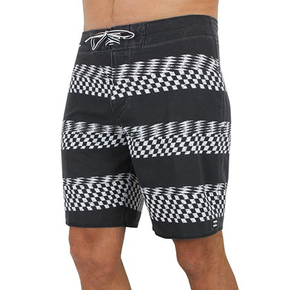 Bermuda Billabong Sundays x Stripe Black