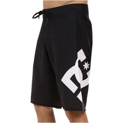 Bermuda Boardshort DC Shoes Lanai Black White