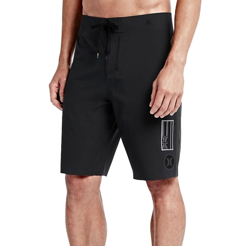 Bermuda Boardshort Hurley Phantom JJF 2 Elite Pipe Edition Black