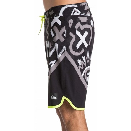 Bermuda Boardshort Quiksilver New Wave Steeple Grey