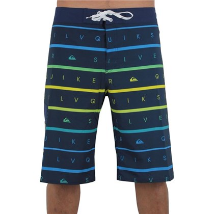 BERMUDA BOARDSHORT QUIKSILVER STACKS ON NAVY EXTRA GRANDE