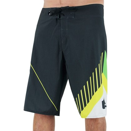 Bermuda Boardshort Quiskilver New Wave Panel Extra Grande Black