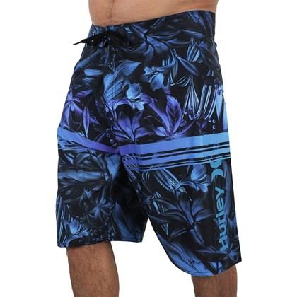 Bermuda Extra Grande Hurley Overlay Azul