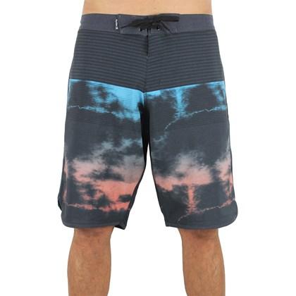 Bermuda Hurley Half Dye Black