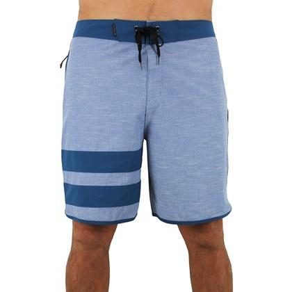 ... Bermuda Hurley Phantom Block Party Slub Blue Force 2dee5a30524