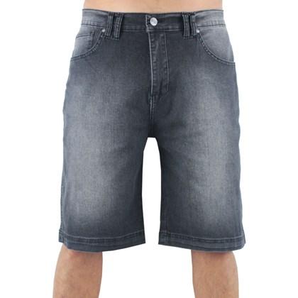 Bermuda Jeans Wave Giant Extra Grande Flip Preta