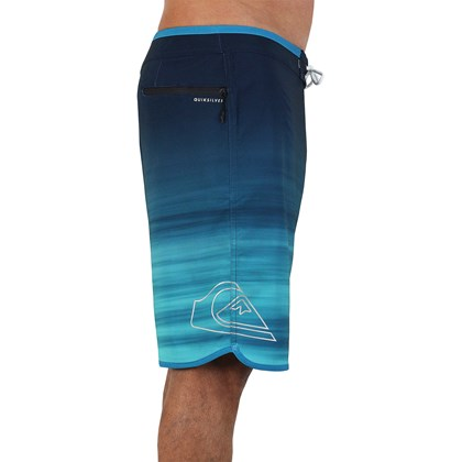 Bermuda Quiksilver Highline New Wave Crystal Teal