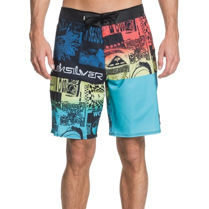 Bermuda Quiksilver Highline Rave Wave Pacific Blue
