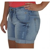 BERMUDA ROXY WALK JEANS CLARO FLYING FEMININO