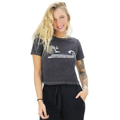 Blusa Roxy Stripe Wave Black