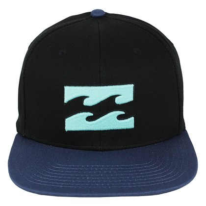Boné Billabong All Day Black Blue Snapback