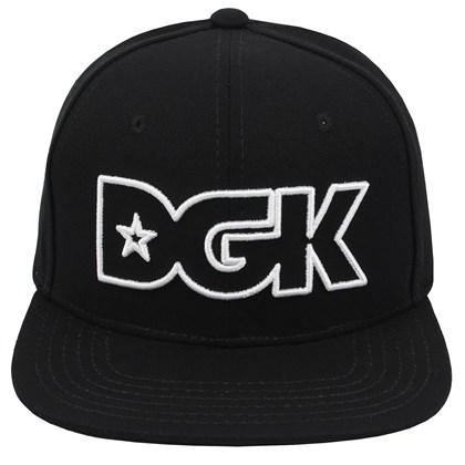 Boné DGK Outline Snapback Black