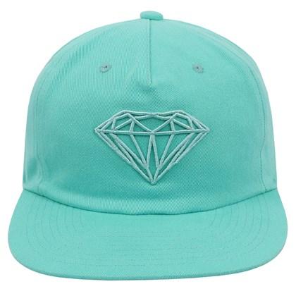 Boné Diamond Brilliant Unstruct Snapback Diamond Blue