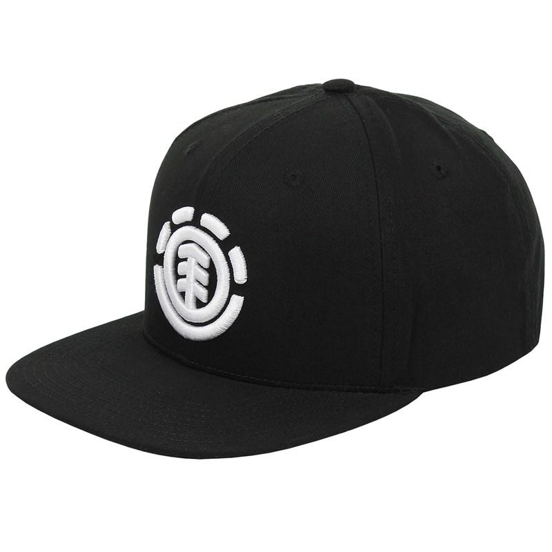Boné Element Knutsen Snapback Black White