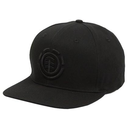 Boné Element Knutsen Snapback Flint Black