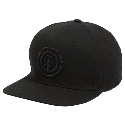 Boné Element Knutsen Snapback Flint Black