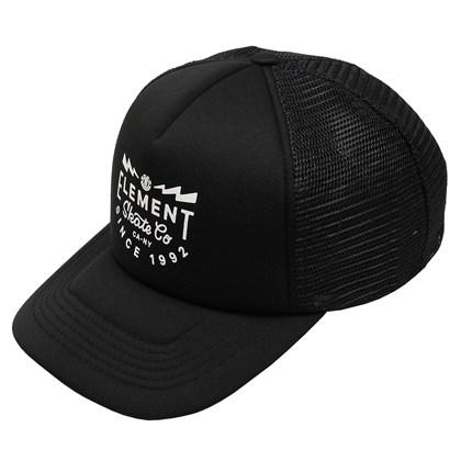 Boné Element Rift Trucker Black
