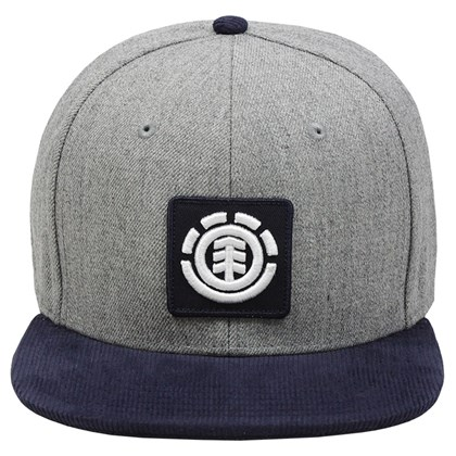 Boné Element United Cap Snapback Heather Grey