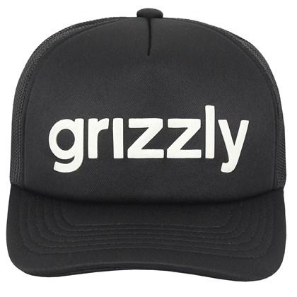 Boné Grizzly Lowercase Trucker Black