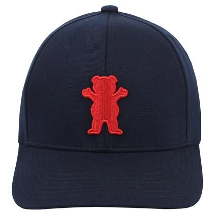 Boné Grizzly OG Bear Baseball 6 Panel Navy