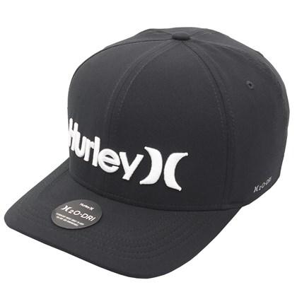 Boné Hurley One & Only Snapback Black