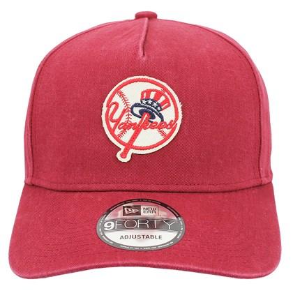 Boné New Era 9FortyA-Frame MLB New York Yankees Heritage Red