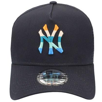 Boné New Era 9Forty A-Frame MLB New York Yankees Navy