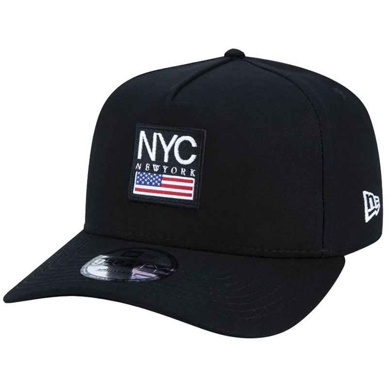 Boné New Era 9Forty Cities NYC Black