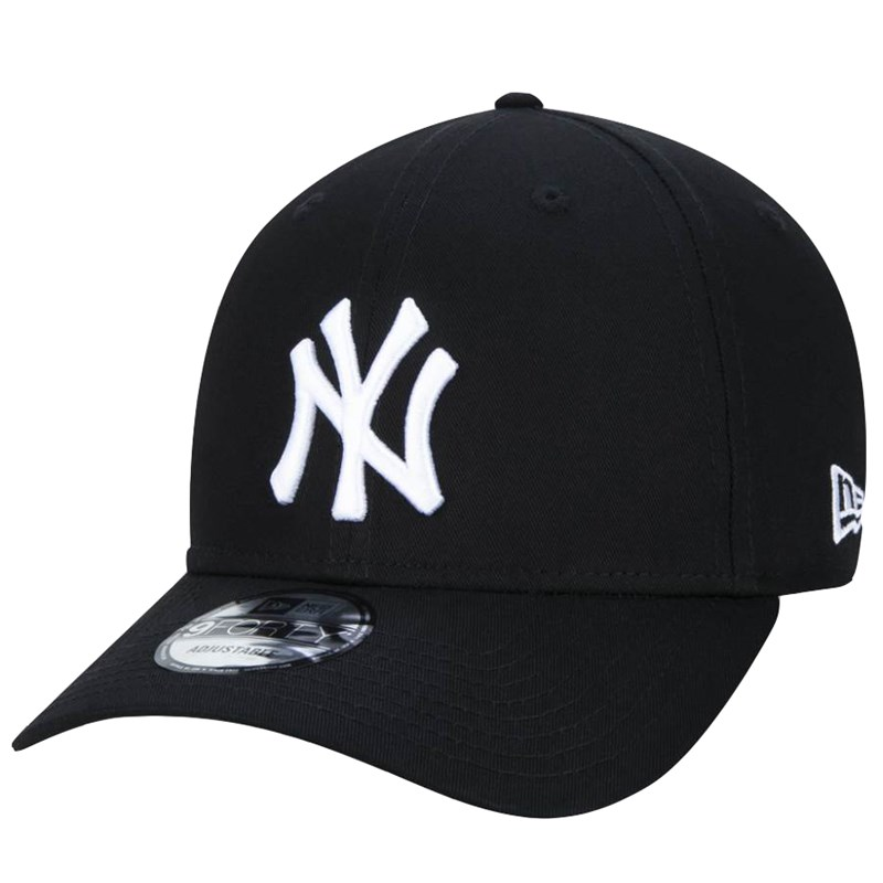 Boné New Era 9Forty MLB New York Yankees Black White