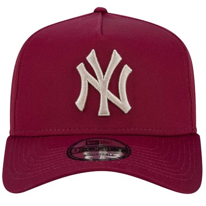 Boné New Era 9Forty MLB New York Yankees Snapback Vinho
