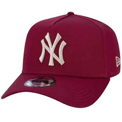 Boné New Era 9Forty MLB New York Yankees Snapback Vinho