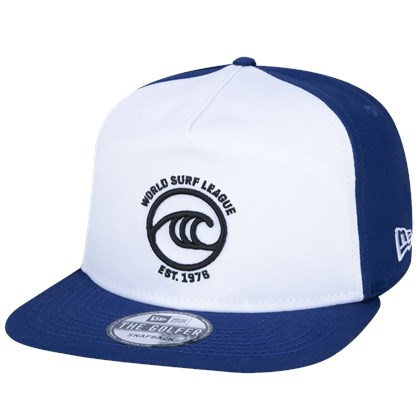 Boné New Era Golfer WSL White Blue