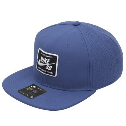 Boné Nike SB AeroBill Pro 2.0 Snapback Azul