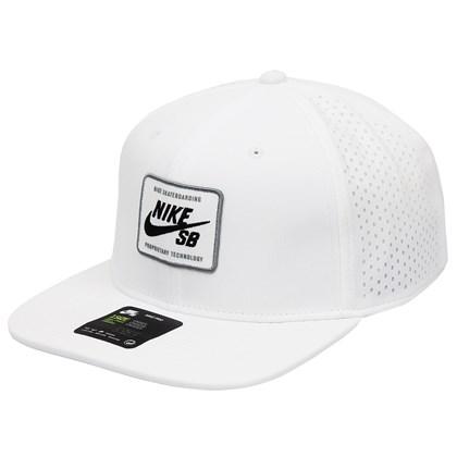 Boné Nike SB AeroBill Pro 2.0 Snapback White