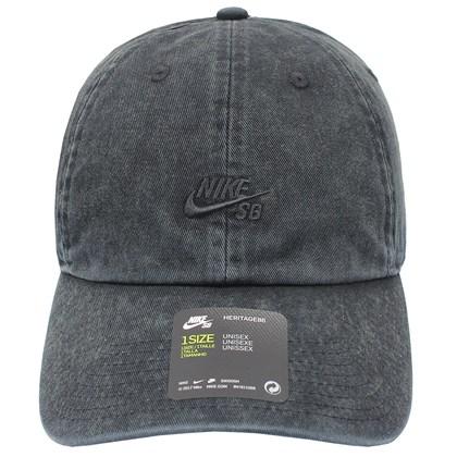 Boné Nike SB Heritage 86 Washed Black