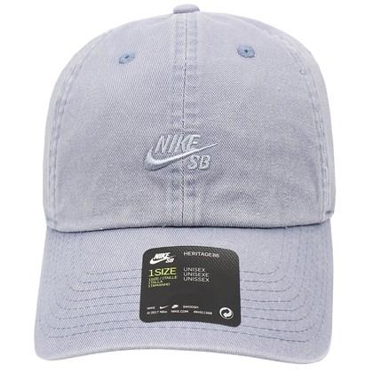 Boné Nike SB Heritage 86 Washed Cinza