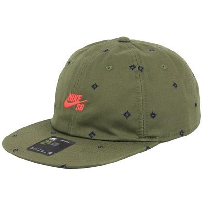 Boné Nike SB Printed Hat Medium Olive