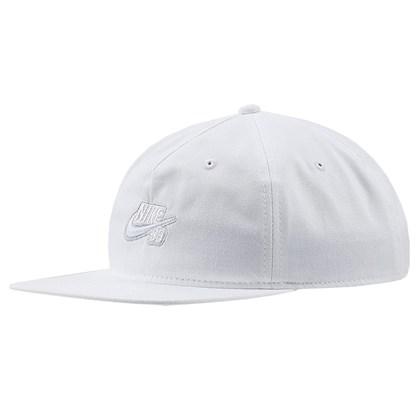 Boné Nike SB Pro Snapback White
