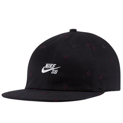 Boné Nike SB Unstruc Strapback Black