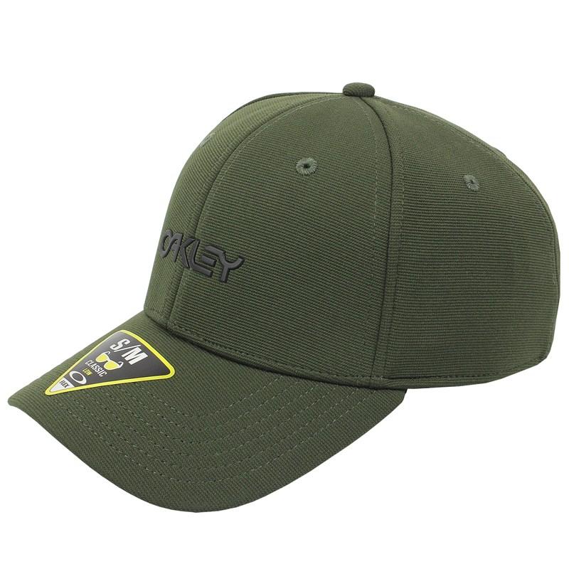 Boné Oakley 6 Panel Stretch Metallic Hat New Dark Brush