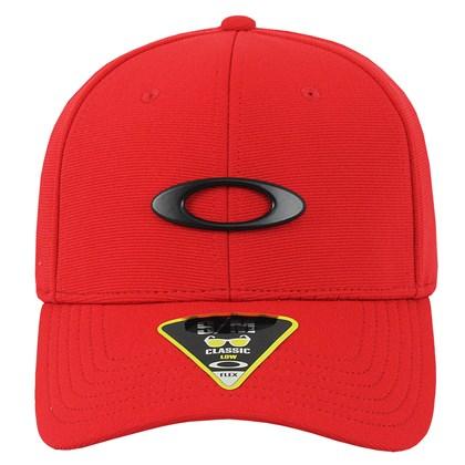 Boné Oakley Tincan Red Black