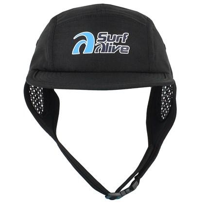 Boné Para Surf Classic Surf Alive Black