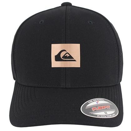 Boné Quiksilver Logo Reflective Black