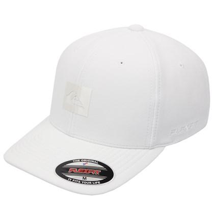 Boné Quiksilver Logo Reflective White