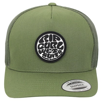 Boné Rip Curl Original Wetty Trucker Green