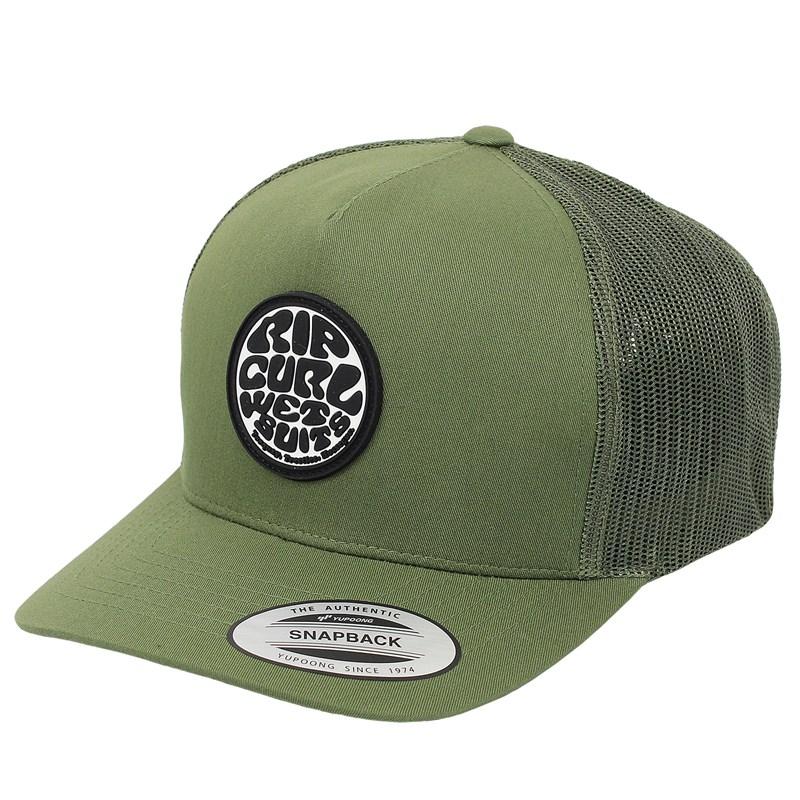 Boné Rip Curl Original Wetty Trucker Green