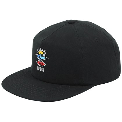 Boné Rip Curl Search Strapback Washed Black