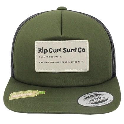Boné Rip Curl SWC Trucker Dark Olive