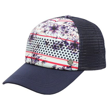 Boné Roxy Water Come Down Blue Light Rain Trucker