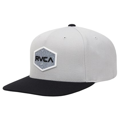 Boné RVCA Commonwealth Snapback Light Grey
